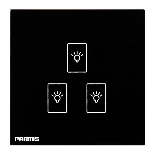 کلید لمسی سه پل پارمیس