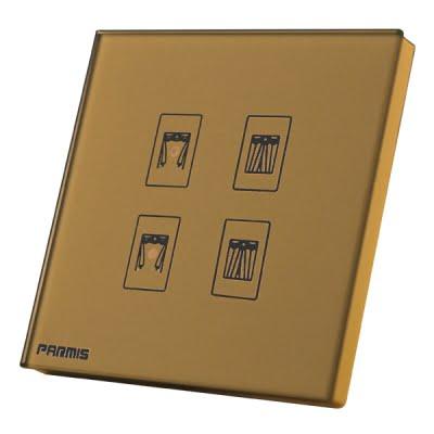 کلید لمسی پرده برقی پارمیس
